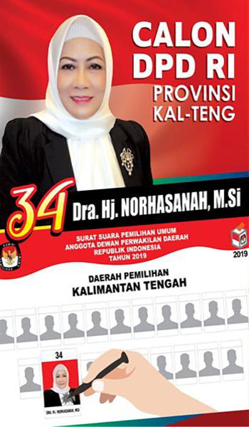 Dra. Hj. Norhasanah, M.Si