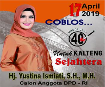 Calon DPD RI No. 40 Dapil Kalteng