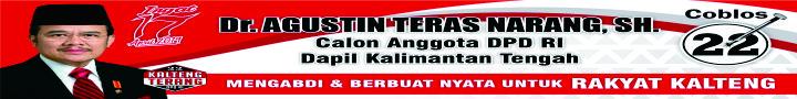 Dr. Agustin Teras Narang, SH.