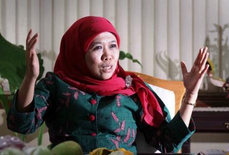 Menteri Sosial, Khofifah Indar Parawansa. BORNEONEWS/ DOK