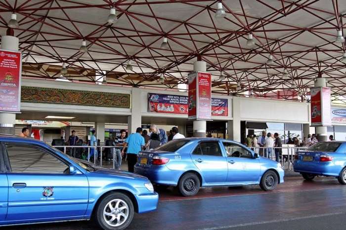 Aktivitas di Bandara Soekarno Hatta.