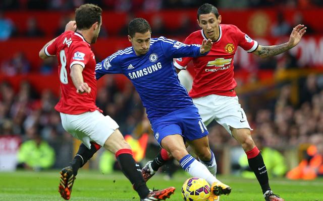JAGA ASA JUARA: Chelsea yang tengah dalam performa terbaiknya siap melewati hadangan Manchester United di Stamford Bridge, Sabtu (18/4) malam, demi menjaga asa juara Liga Primer Inggris.