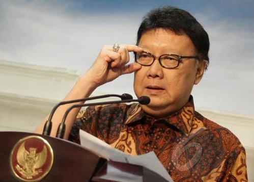 Menteri Pendayagunaan Aparatur Negara dan Reformasi Birokasi,Tjahjo Kumolo.