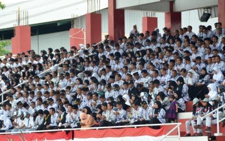 PNS Kotim di Stadion 29 November Sampit, Kotawaringin Timur. BORNEO/RAFIUDIN