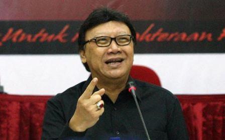 Menteri Dalam Negeri Tjahjo Kumolo