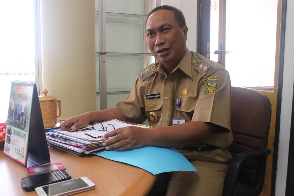Wakil Wali Kota Palangka Raya Mofit S Subagio. BORNEONEWS/DOK