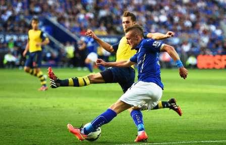 LAGA SENGIT : Arsenal akan menjamu Leicester City di Emirates Stadium dalam laga lanjutan Liga Primer Inggris, akhir pekan ini. Laga itu dipresdiksi bakal berlangsung sengit mengingat kedua tim hanya berselisih lima poin di papan klasemen sementara.