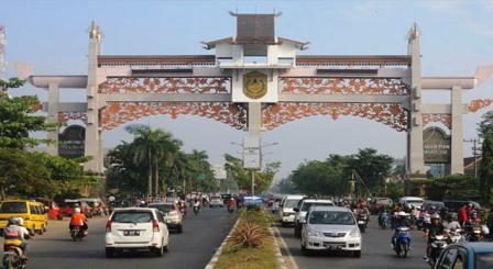 ILUSTRASI Kota Banjarmasin