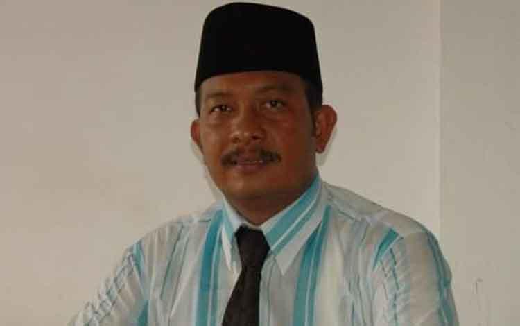 Ketua Komisi I DPRD Katingan Karyadi. BORNEONEWS/HAIRUL SALEH