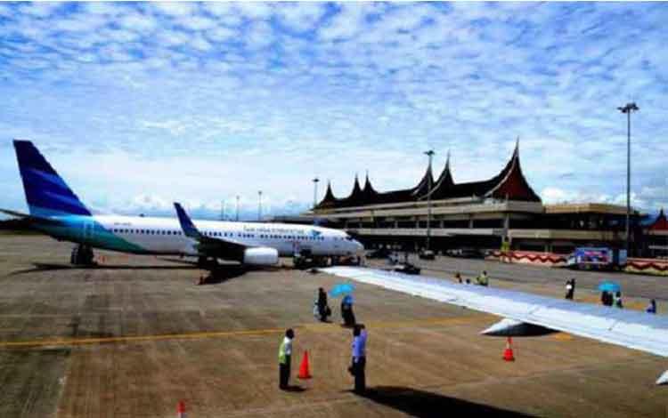 Bandara Internasional Minangkabau. ISTIMEWA