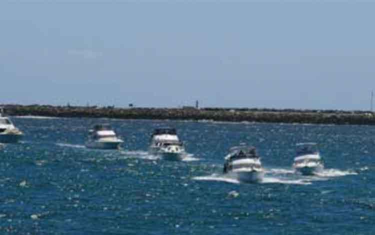 Fremantle Sailing Club. ISTIMEWA