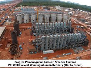 PT Well Harvest Wnnning Alumina Refinery BORNEONEWS/DOK
