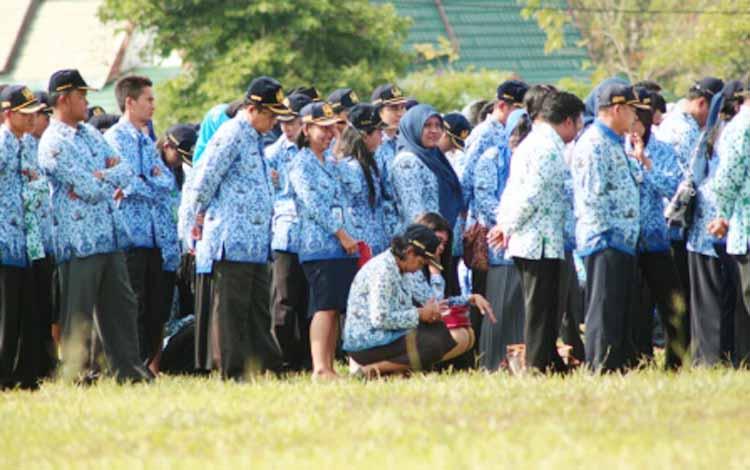 Pemerintah Kabupaten Barito Timur (Bartim) bakal meneluarkan surat edaran pengurangan jam kerja bagi para ASN di lingkungan setempat selama bulan suci Ramadan 2016. DOK BORNEONEWS