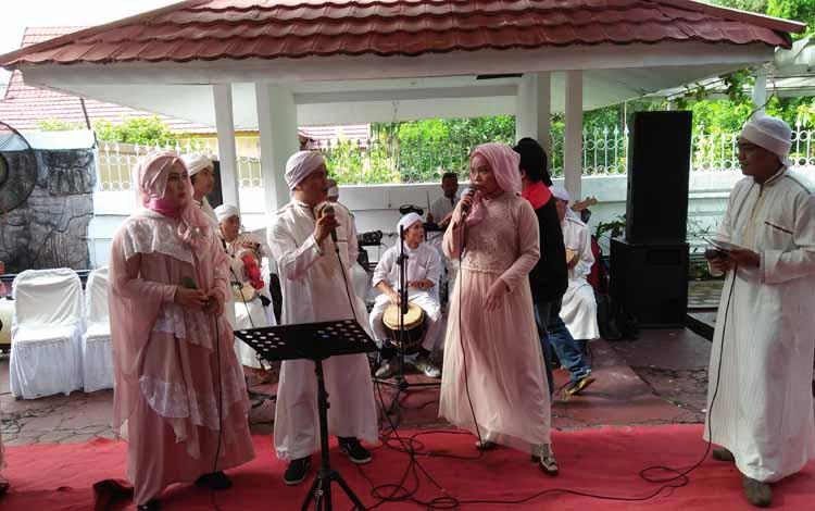 Kelompok Nasyid Humaira, Palangka Raya BORNEONEWS/BUDI BASKORO