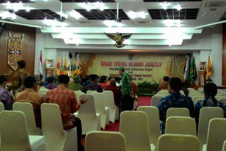 Suasana Aula jayang Tingang, di Kantor Gubernur, Palangka Raya. BORNEONEWS/TESTI PRISCILLA