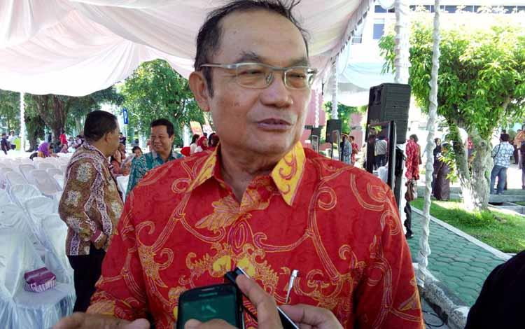 Mantan Wakil Gubernur Kalimantan Tengah, Achmad Diran. BORNEONEWS/BUDI YULIANTO