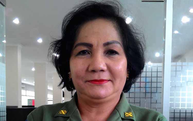 Marianitha, Karo Humas Protokol Pemprov Kalimantan Tengah. BORNEONEWS/TESTI PRISCILLA