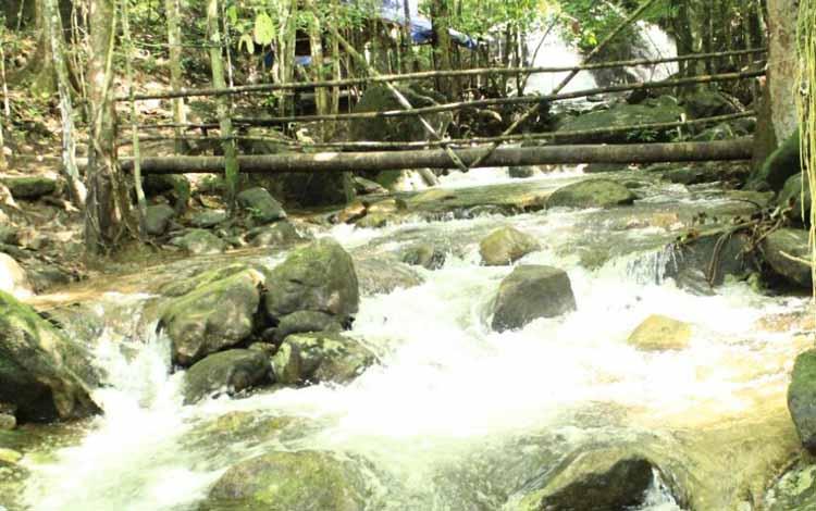 Silikan atau air terjun dalam bahasa daerah Kecamatan Delang, Lamandau, Kalimantan Tengah, salah satu tempat wisata di jalan trans Kalimantan. Suasananya yang asri, dengan gemuruh suara air, cocok untuk tempat melepas lelah. BORNEONEWS/TESTI PRISCILLA