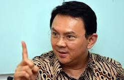 Basuki Tjahaja Purnama, Gubernur Jakarta  (BORNEO/DOK)