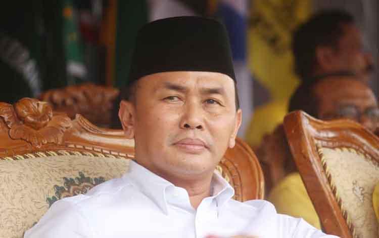 Gubernur Kalteng, Sugianto Sabran. Hari ini Kalteng meraih penghargaan 5 besar capaian aksi koordinasi dan supervisi pencegahan dari KPK