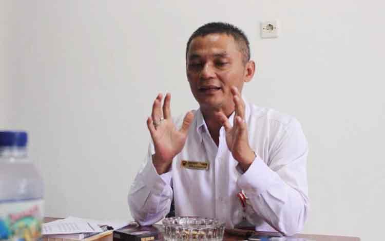 Kepala Ombudsman Republik Indonesia (ORI) Perwakilan Kalimantan Tengah, Thoeseng TT Asang. BORNEONEWS/M. MUCHLAS ROZIKIN