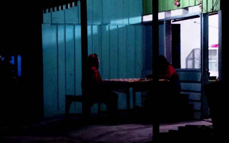 Salah satu wisma di Dukuh Mola, pusat prostitusi terbesar di Pangkalan Bun.