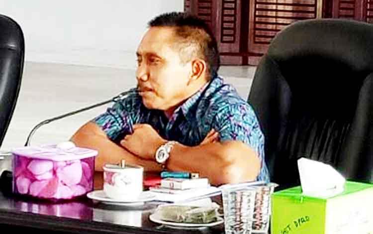 Wakil Ketua II DPRD Kabupaten Sukamara, Mohammad Yamin.