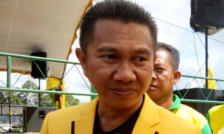 Ketua DPD Golkar Kabupaten Sukamara, Eddy Alrusnadi.