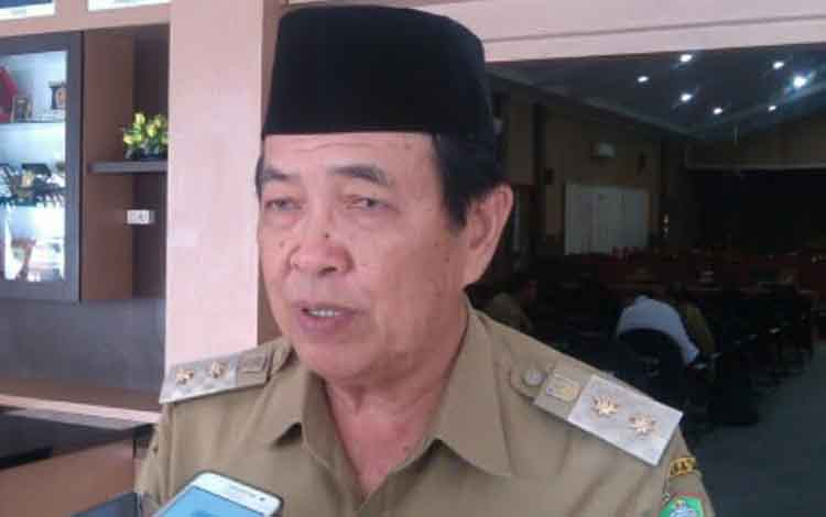 Wakil Bupati Kotim, HM Taufiq Mukri