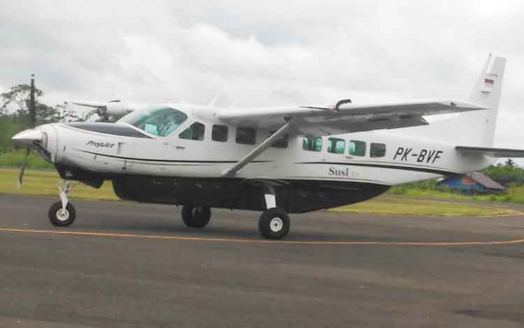 Pesawat Susi Air.