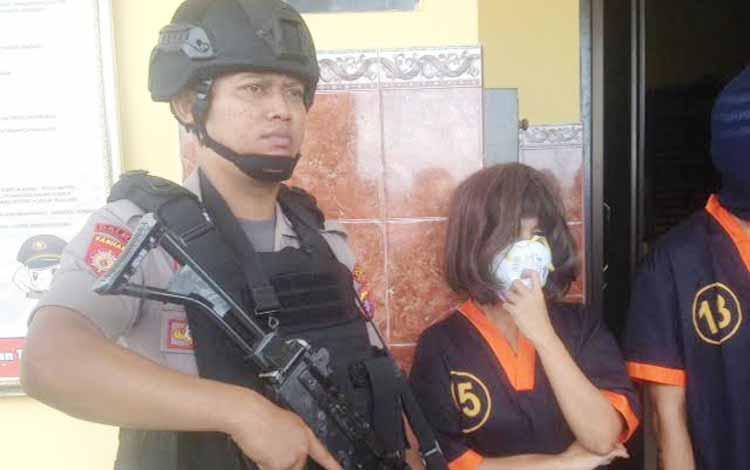 Edarkan sabu, Janda Menor ini ditangkap polisi