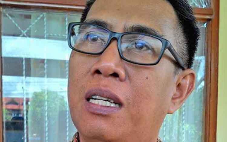 Kepala Badan Penelitian Pengembangan Inovasi dan Teknologi Kota Palangka Raya Barit Rayanto.
