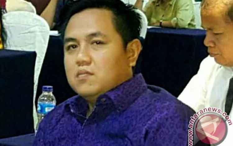 Wakil Ketua DPRD Kabupaten Barito Timur Ariantho S Muller