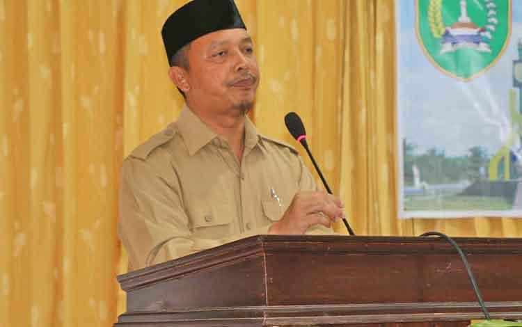 Wakil bupati Sukamara, Windu Subagio.