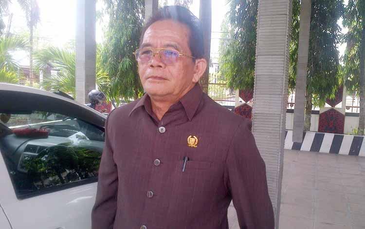 Anggota DPRD Kabupaten Barito Selatan James Janjam.