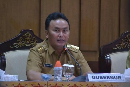 Gubernur Kalteng Sugianto Sabran