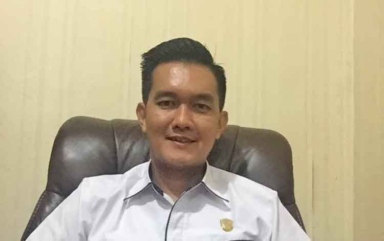 Anggota Komisi III DPRD Kotawaringin Timur, Hero Harapanno Mandouw.