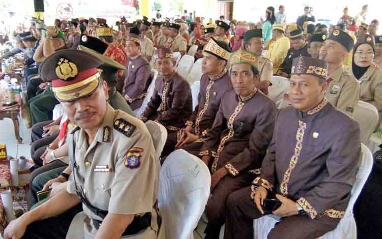 Beberapa anggota DPRD Kota Palangka Raya yang menghadiri pembukaan KBN, Senin (17/7/2017)