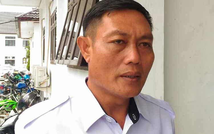 Kepala Dinsos Kabupaten Gumas Jhonson Ahmad