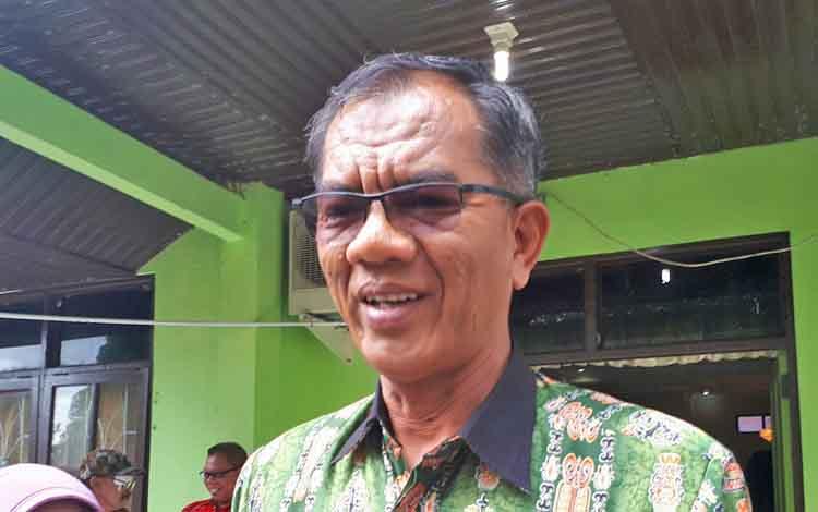 Kepala Dinas Lingkungan Hidup Kabupaten Kotawaringin Timur Sanggul L Gaol.