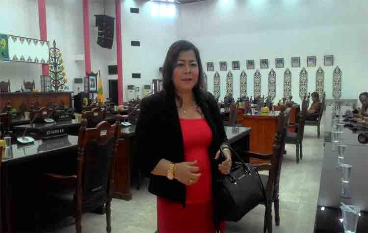 Ketua Komisi B DPRD Kota Palangka Raya, Nenie A Lambung