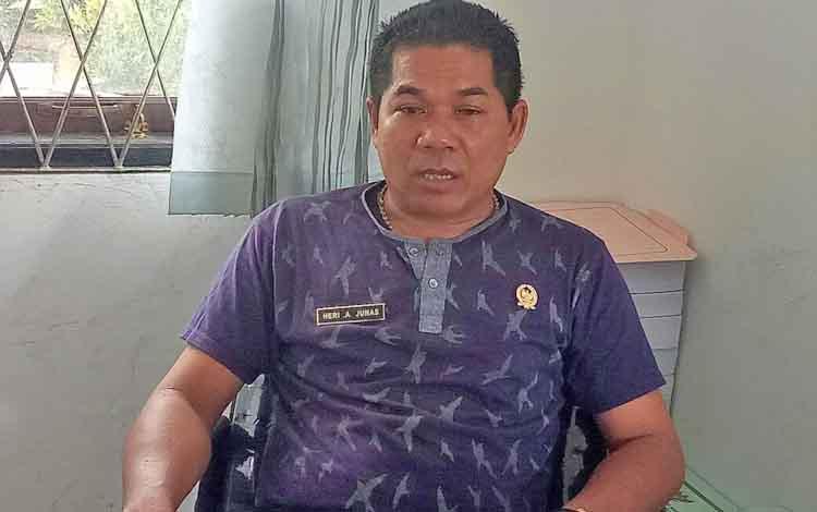Anggota DPRD Gumas Hery A Junas.