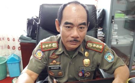 Kepala Satuan Polisi Pamong Praja (Satpol PP) Kabupaten Murung Raya (Mura) Iskandar