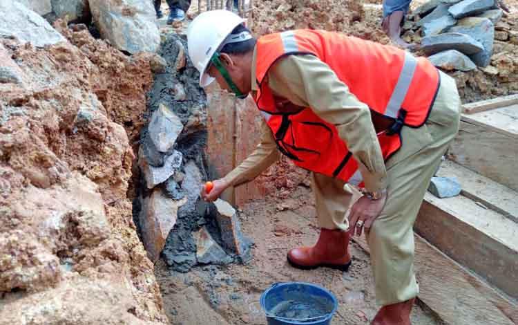 Pembangunan Rumah Sakit Pratama Tumbang Talaken Harus Tepat Waktu