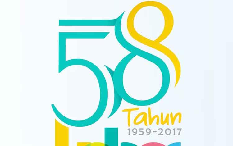 Ini Desain Logo Hut Ke 58 Kabupaten Kotawaringin Barat