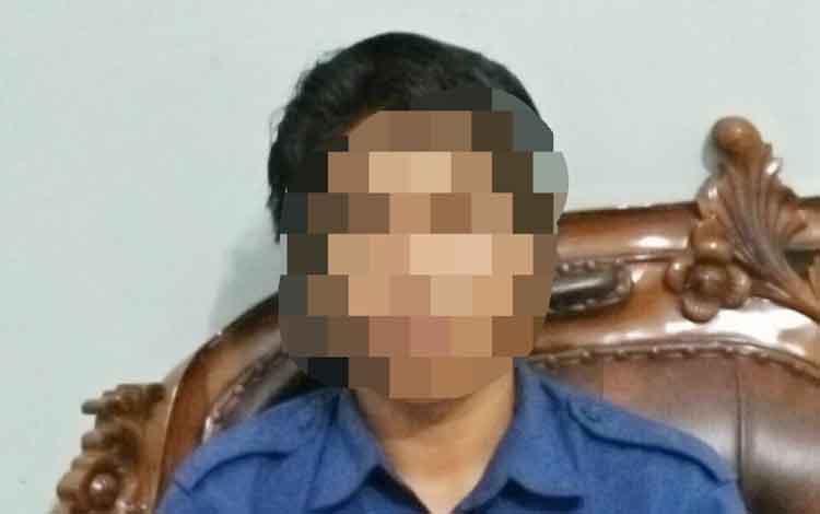 RF dibawa ke kantor BNN Kota Palangka Raya