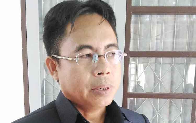 Anggota DPRD Gumas, Herbert Y Asin