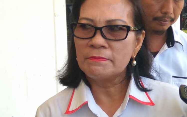 Sekretaris Komisi Penanggulangan AIDS Kalteng Rusini Anggen.
