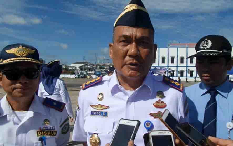 Kepala KSOP Sampit, Toto Sukarno.