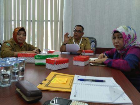 Rapat persiapan peresmian Rumah Sakit Umum Daerah Muara Teweh, Selasa (19/12/2017).